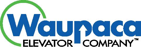 Waupaca Elevator Company Custom Elevators Logo installations by Personal Elevator.