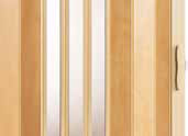 Waupaca vinyl gate maple 3 panel clear