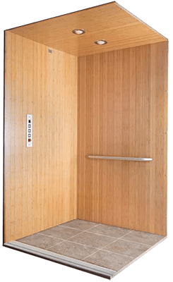 Waupaca Bamboo elevator model