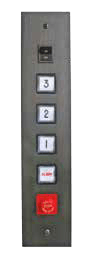 Waupaca elevator panel grey