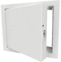 Waupaca dumbwaiter brushed powder coated door