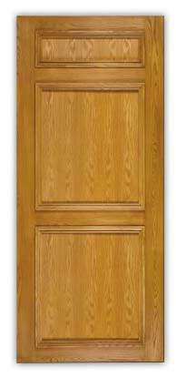 golden stain lacquer finish panel