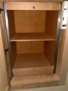 PLI Dumbwaiter doors open position